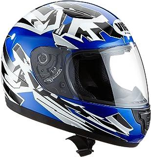 Protectwear Casco  de moto de los niños azul SA03-BL Tamaño 2XS (juventud M) 50/51 cm