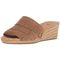 e3a0df543 Brown fringe sandals - Casual Women s Shoes