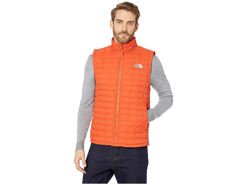 The North Face Thermoball Vest (Zion Orange Matte) Men