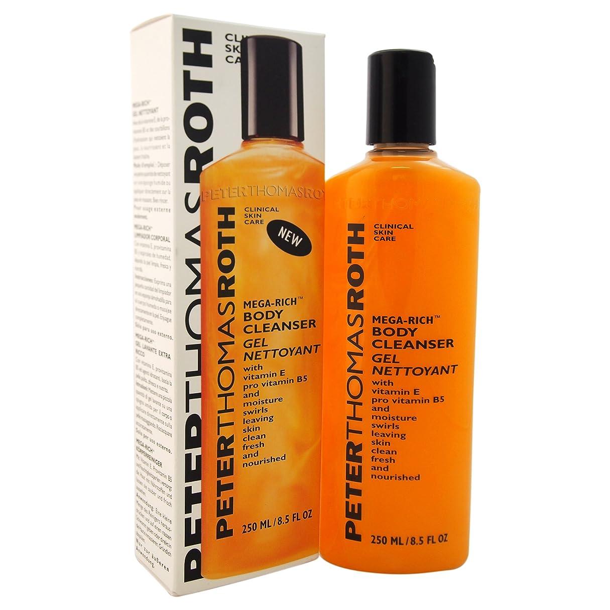 着替える誘発する口径Peter Thomas Roth Mega-Rich Body Cleanser Gel (並行輸入品) [並行輸入品]