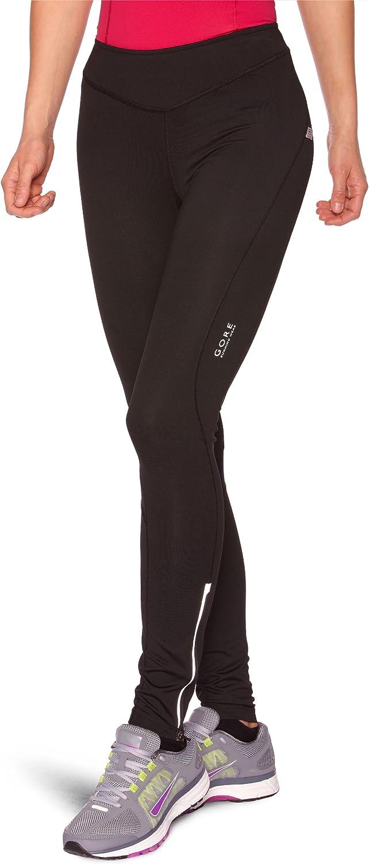 Gore Bike Wear Women's Essential 2.0 Tights, Black Hot Pink, XXLarge