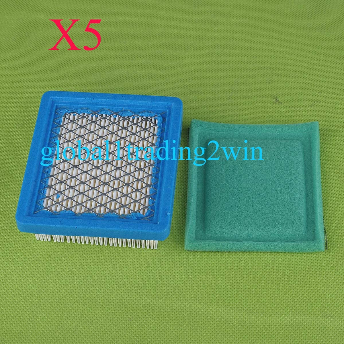 Replacement Parts 5x Pre Air Filter for 36046 Oklahoma City Mall Free Shipping Cheap Bargain Gift Tecumseh C 740061