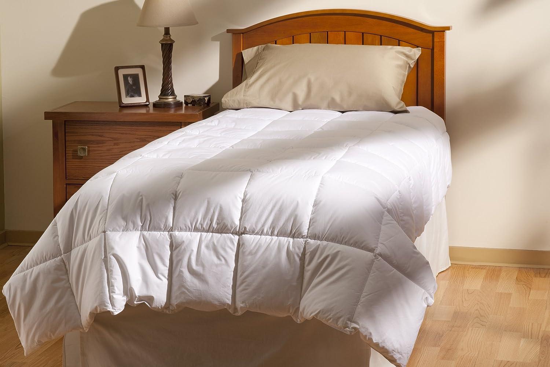 Aller-Ease 100% Cotton Allergy Comforter, Full Queen, White