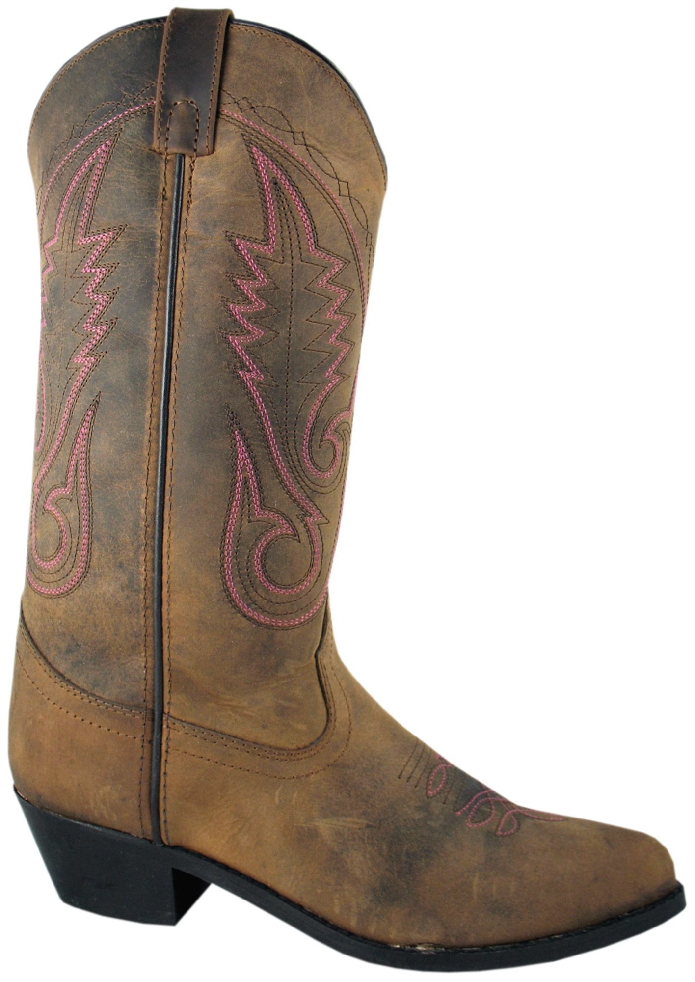 Smoky Womens Western Leather Cowboy