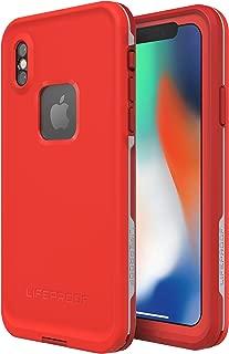 Lifeproof FRĒ SERIES Waterproof Case for iPhone X (ONLY) - Retail Packaging - FIRE RUN (CHERRY TOMATO/SLEET/MOLTEN LAVA)