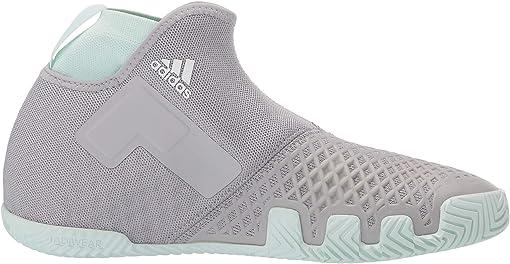 Grey Two/Footwear White/Dash Green
