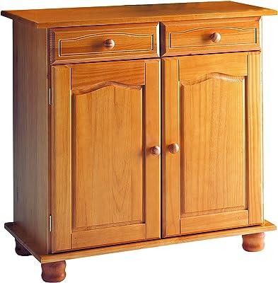 Dogar Altea Buffet avec tiroirs 86x88x44 cm Miel