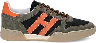 Luxury Fashion | Hogan Men HXM3570AC40N3I50BS Brown Suede Sneakers | Spring-summer 20