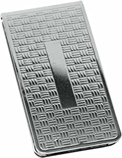 Chrome-Plated Stainless Steel Boxed Money Clip