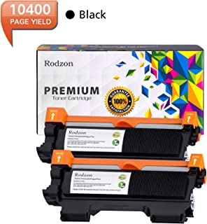Rodzon 2 Packs Toner Cartridge,High Yield Replacement for Brother TN420 TN450 Page Yield up to 5200 Pages Per Pack.