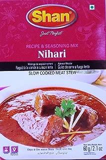 Shan Nihari Recipe & Seasoning Mix for Slow Cooked Meat Stew - Pack of 6 (2.1 Oz. Ea.)