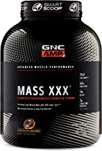 GNC AMP Mass XXX, Chocolate Doughnut, 6.2 lbs, Supports Muscle Protein Synthesis