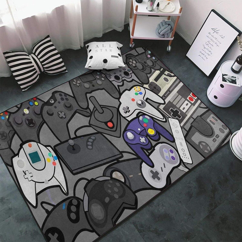 Tsugar 本日の目玉 Gamer Controller Area 送料込 Rugs Carpets for Room Childr Living