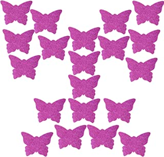Ypser 10 Pairs Butterfly Nipple Covers Disposable Pasty Satin Pasties for Women