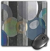 3drose Art Deco Silver Design - Mouse Pad