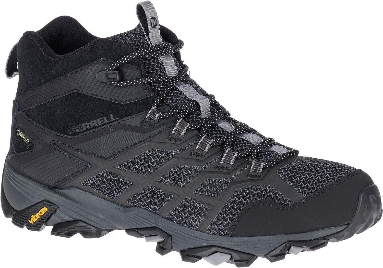 Merrell Moab FST 2 GTX Mid-Cut Schuhe Herren All schwarz 2019