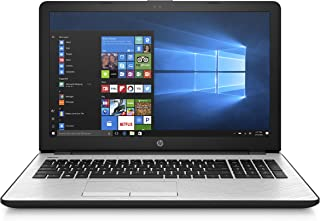 Hp 15-bs0031wm Laptop 15.6 Inches LED Laptop - Intel i3-7100U 2.4 GHz, 4 GB RAM, 1000 GB HDD, Intel UHD Graphics 620, Windows 10, Silver