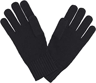 Classic Jersey Knit Gloves in 100% Pure Cashmere with Ribbed Cuffs • Ultimate Protection
