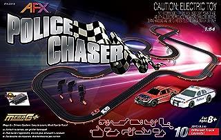 AFX 22019 Police Chaser HO Scale Slot Car Set