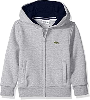 Lacoste Boys' Sport Hooded Fleece Sweatshirt
