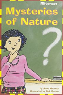 Harcourt School Publishers Trophies: Advanced-Level Grade 4 Mysteries of Nature