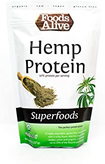 Foods Alive Organic Hemp Protein Powder, 8 Ounce