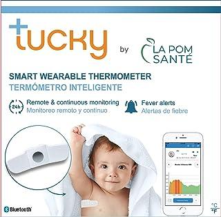 Termómetro inteligente axilar TUCKY- Monitoreo de temperatura de forma continua y remota - Dispositivo médico CE