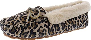 Clarks Women's Dolly Indoor Outdoor Faux Fur Slippers