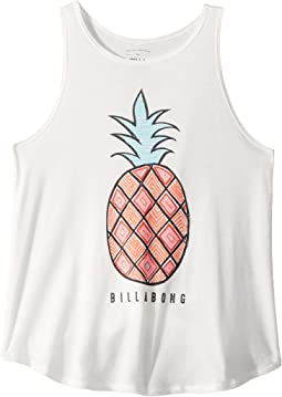 Hey Pineapple Tank Top (Little Kids/Big Kids)