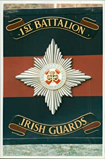 Vintage photo of Irish Guards.