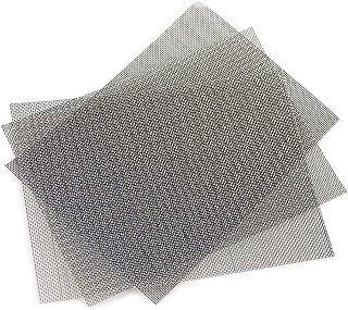 Siatka Poao 3 sztuki siatek na owady ze stali nierdzewnej, siatka przeciw gryzoniom 0,8 mm, 20 mm, 300 x 210 mm (3 sztuki)