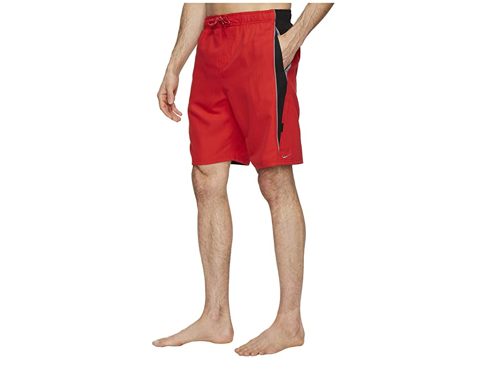 Nike Contend 9 Volley Shorts (University Red) Men