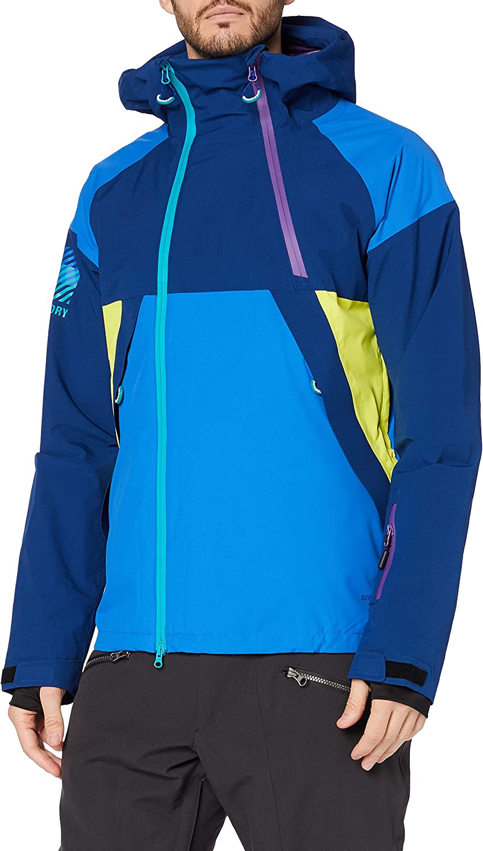 Superdry Steeze Dual Zip Jacket Chaqueta para Hombre