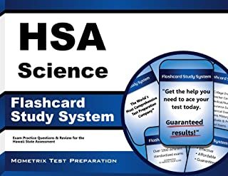 HSA Science Flashcard Study System: HSA Test Practice Questions & Exam Review for the Hawaii State Assessment (Cards)