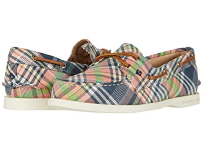 Sperry A/O 2-Eye Washed Plaid (Kick Back Plaid) Women
