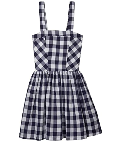 fiveloaves twofish Rosie Fit-and-Flare Dress (Big Kids) (Navy) Girl