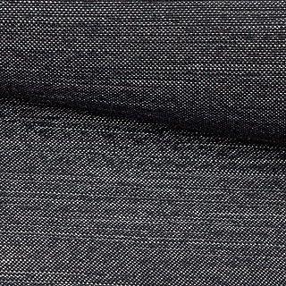 NOVELY NOVELY exquisit Terrino Recycling Polsterstoff Mélange | Möbelstoff XXL Volumen Unterfütterung | Schwer enflammbar 01 Anthrazit