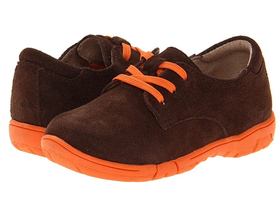 Jumping Jacks Kids Oxford (Toddler/Little Kid) (Chocolate Brown Suede) Boys Shoes