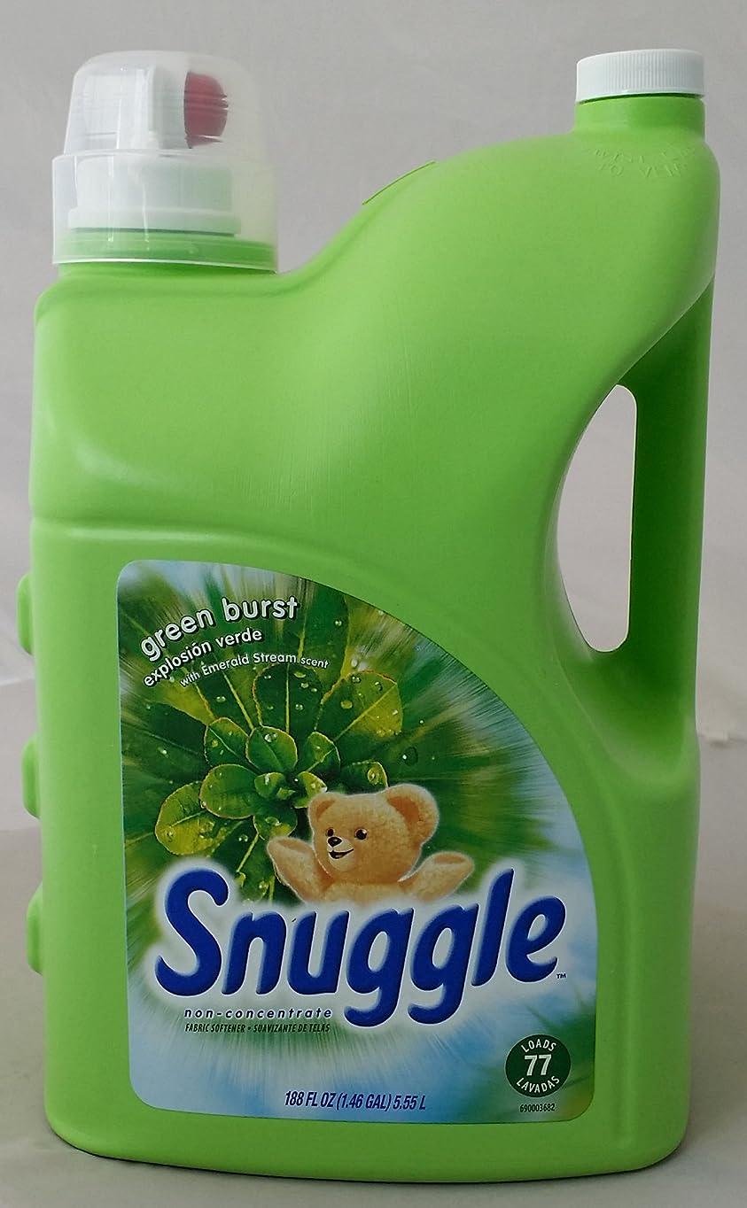 想起ふさわしい基本的なスナッグルグリーンバースト 衣類用柔軟剤 5.55L