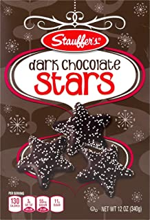 Stauffers Dark Chocolate Stars 12 oz. Box