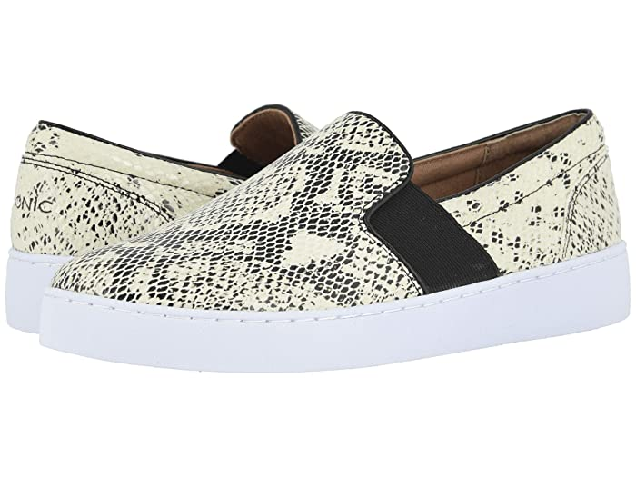 VIONIC  Demetra Snake (White/Black) Womens Shoes