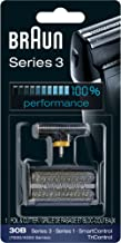 Braun Series 3 30B Foil & Cutter Replacement Head,  Compatible with Previous Generation SmartControl, TriControl, 7000/4000 shavers, and Series 3 (340s)