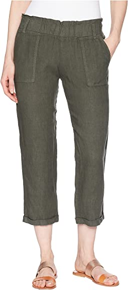 Allen Allen - Cropped Cuff Bottom Pants