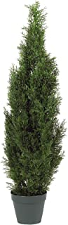 Nearly Natural 5172 4ft. Cedar Tree Silk Tree (Indoor/Outdoor)