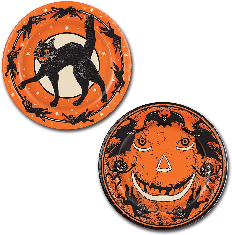Beistle Halloween Teller, 9Zoll, Orange