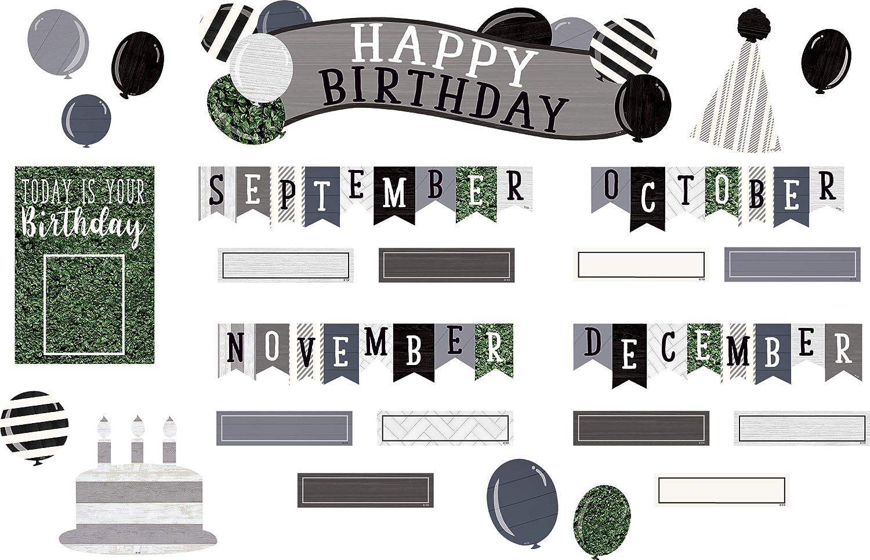 Modern Farmhouse Happy Birthday Bulletin Board Mini Mail Ranking TOP15 order