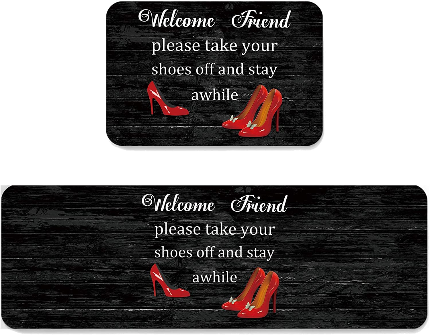 Funny Words Welcome Friend Please Take Red Hig Your He Outlet Oakland Mall sale feature off Shoes