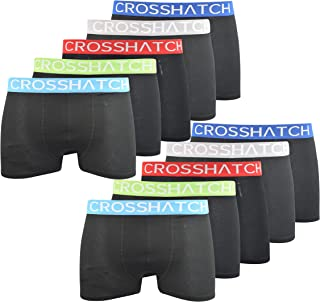 Crosshatch Mens Boxers Shorts (5 Pack) Multipacked Underwear Gift Set Hatcher