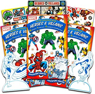 Marvel Heroes Stickers -- Over 600 Reward Stickers Featuring Avengers, Spiderman, X-Men and More!