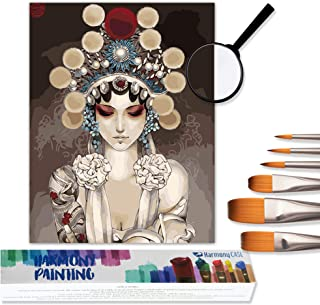 """Paint by Numbers for Adults On Canvas Painting Kit Rolled Wrinkle-Free Canvas Oil Painting 16"""" W x 20"""" L Canvas Paint by N..."""